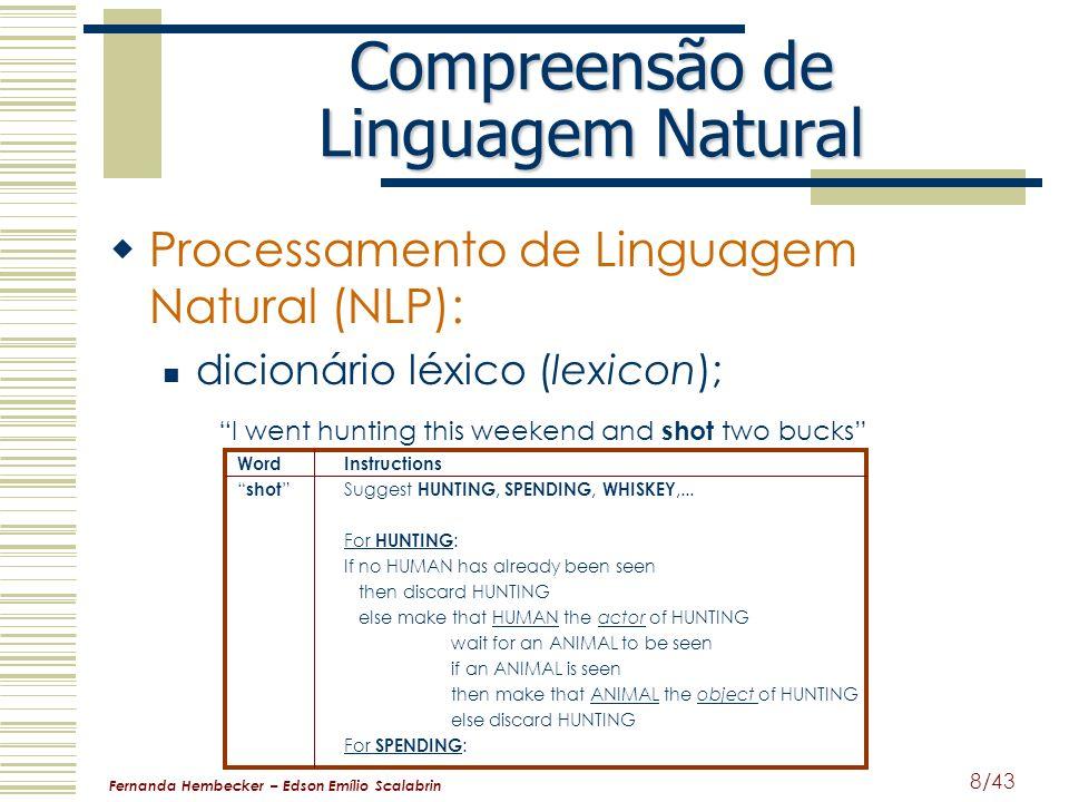 Compreensão de Linguagem Natural