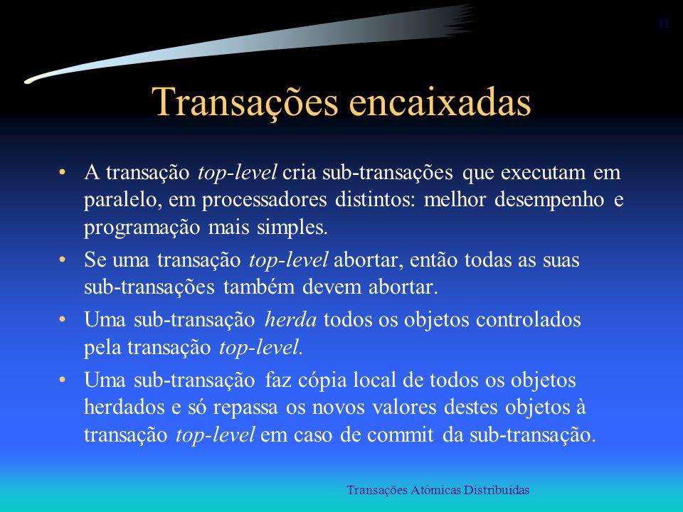 Transações encaixadas