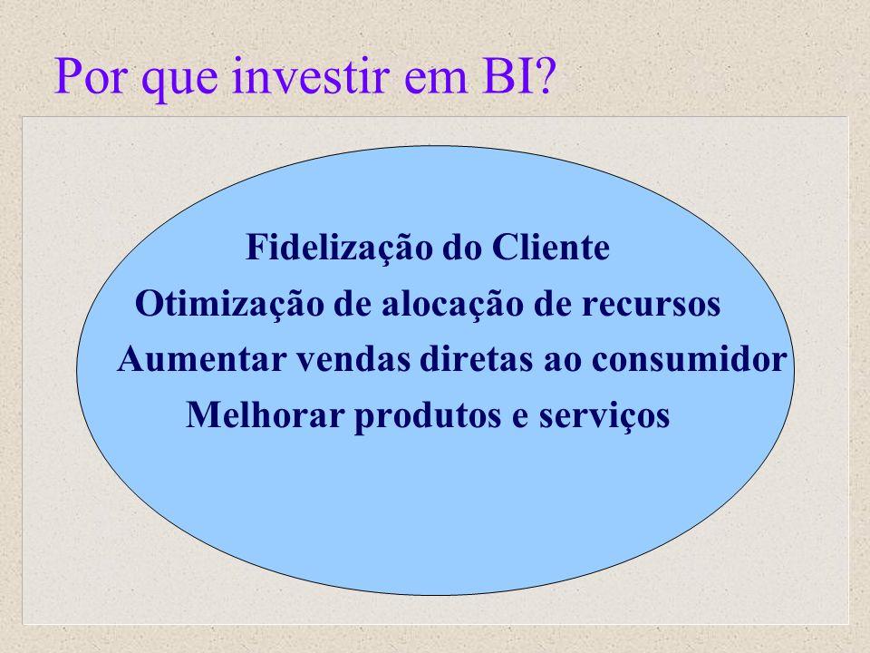 Por que investir em BI Fidelização do Cliente