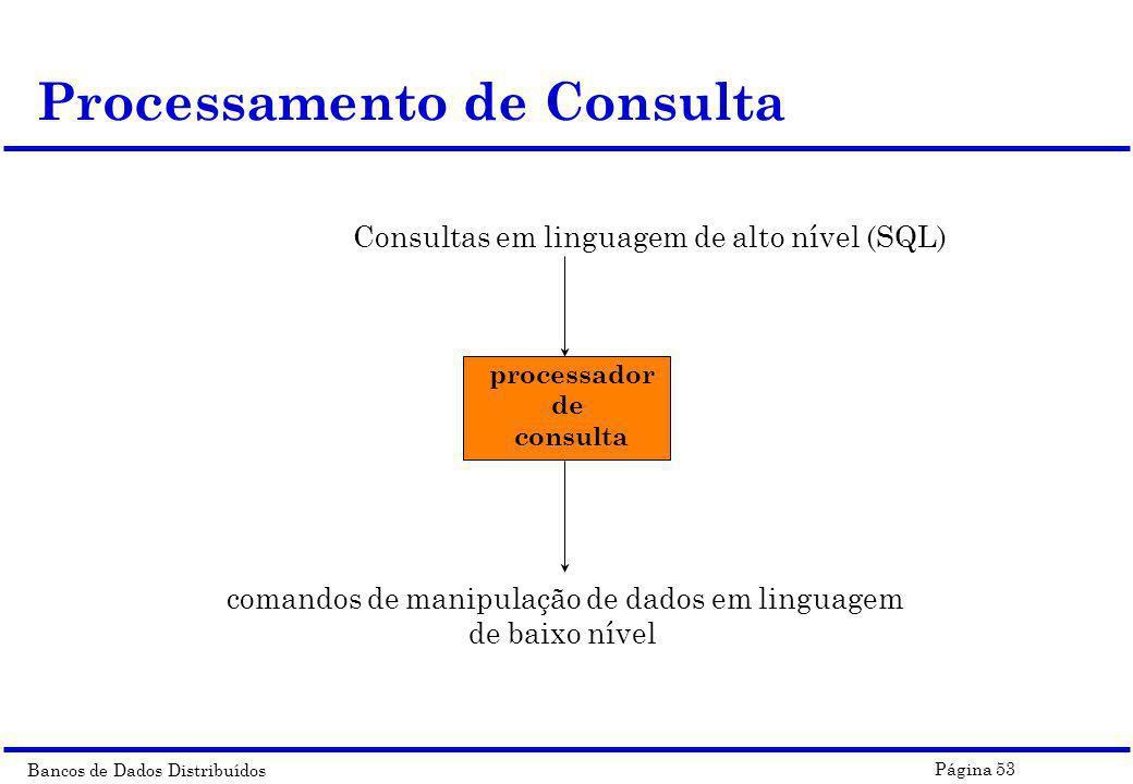 Processamento de Consulta