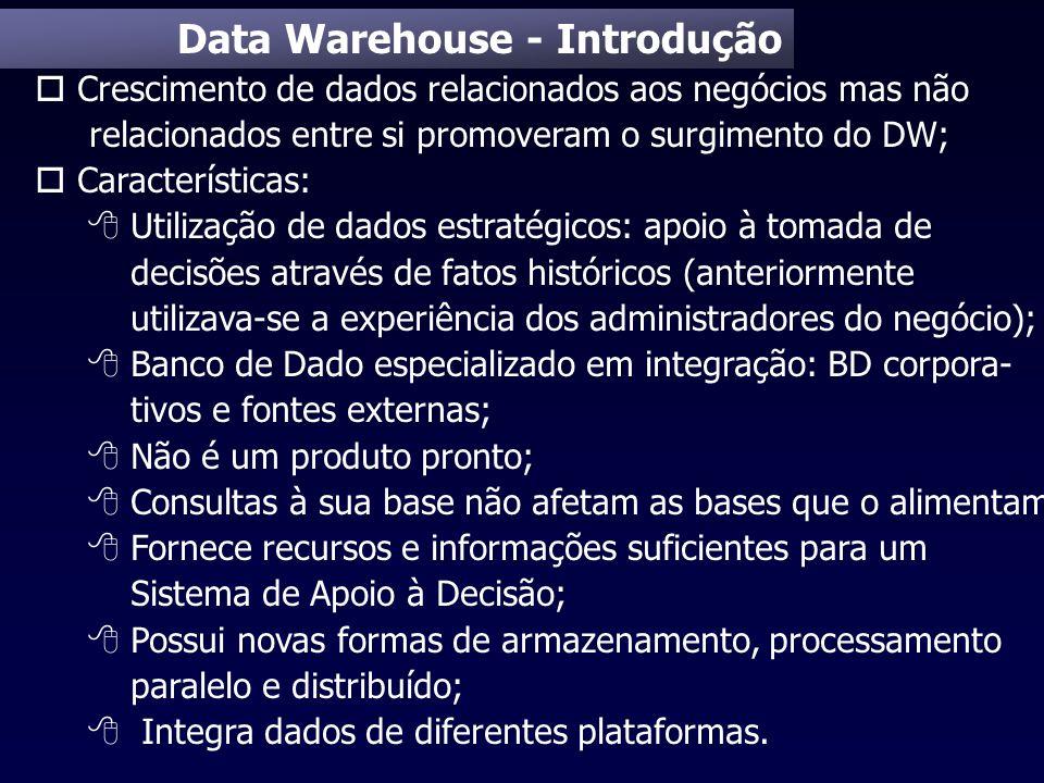 Data Warehouse - Introdução