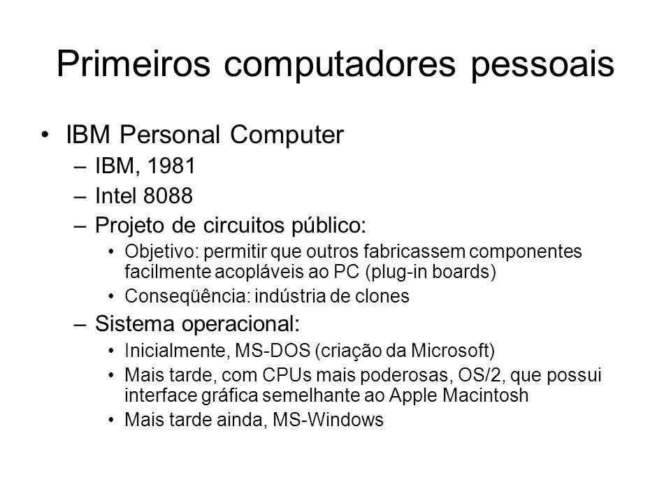 Primeiros computadores pessoais