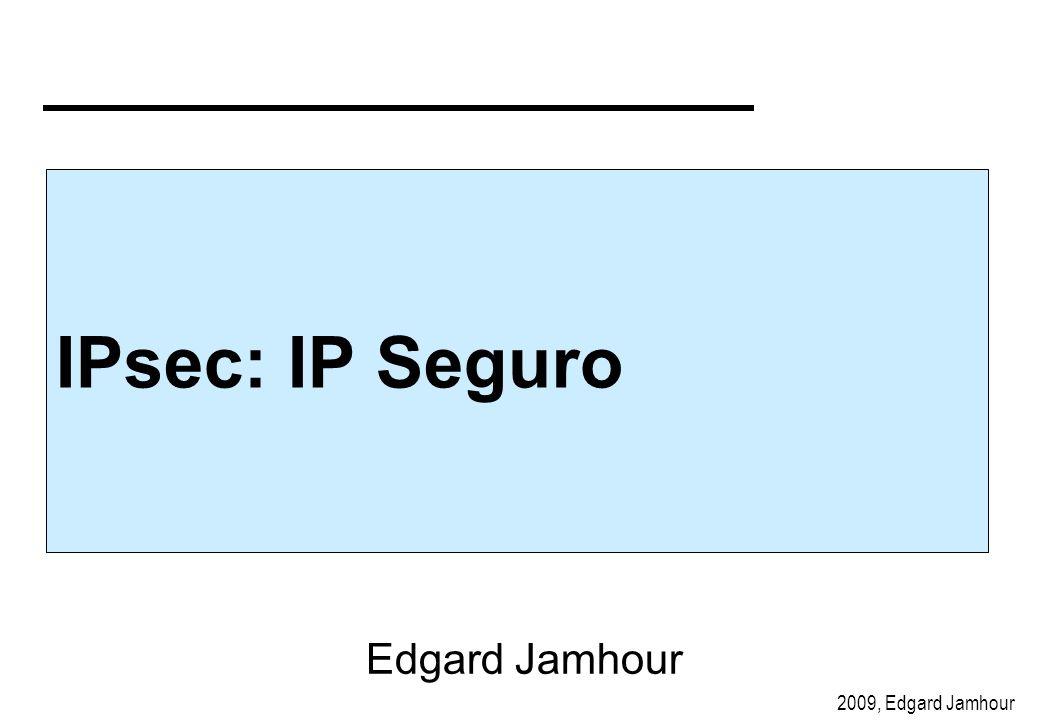IPsec: IP Seguro Edgard Jamhour