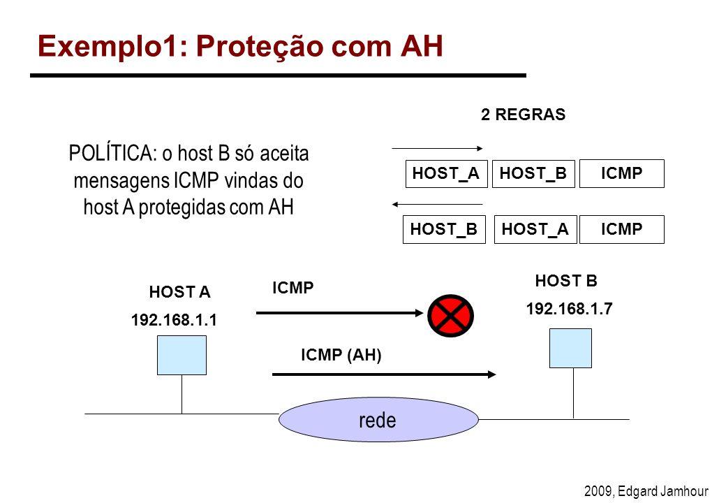 Exemplo1: Proteção com AH