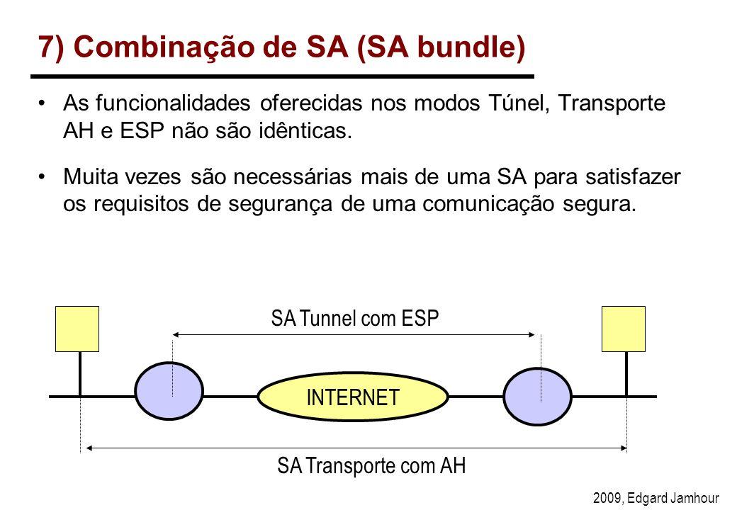 7) Combinação de SA (SA bundle)