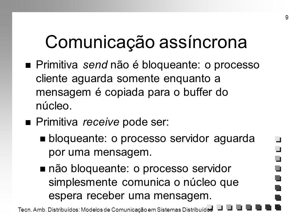 Comunicação assíncrona
