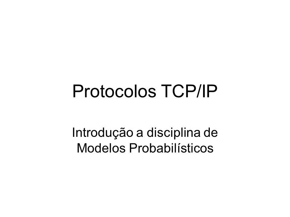 Introdução a disciplina de Modelos Probabilísticos