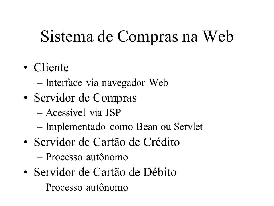 Sistema de Compras na Web