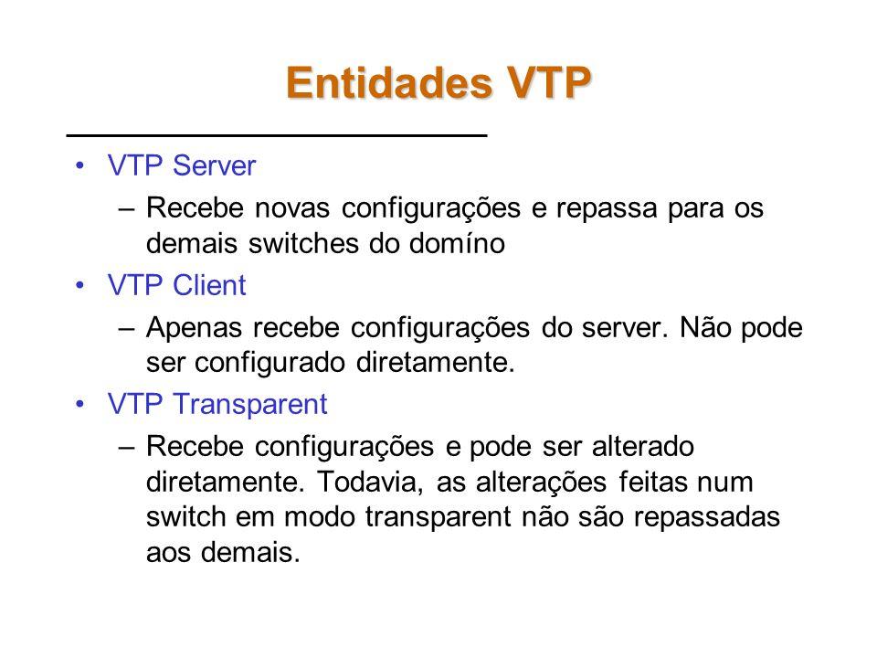 Entidades VTP VTP Server