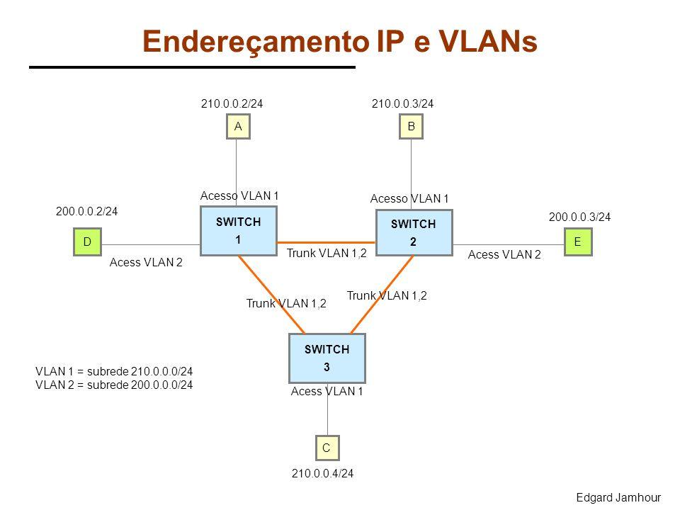 Endereçamento IP e VLANs