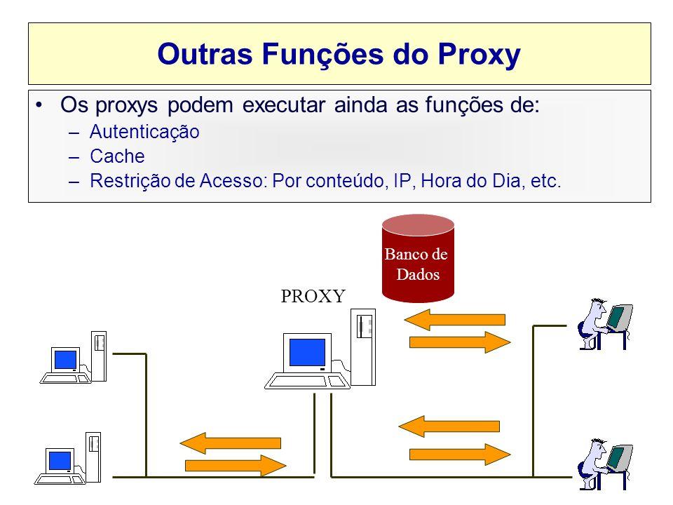 Outras Funções do Proxy