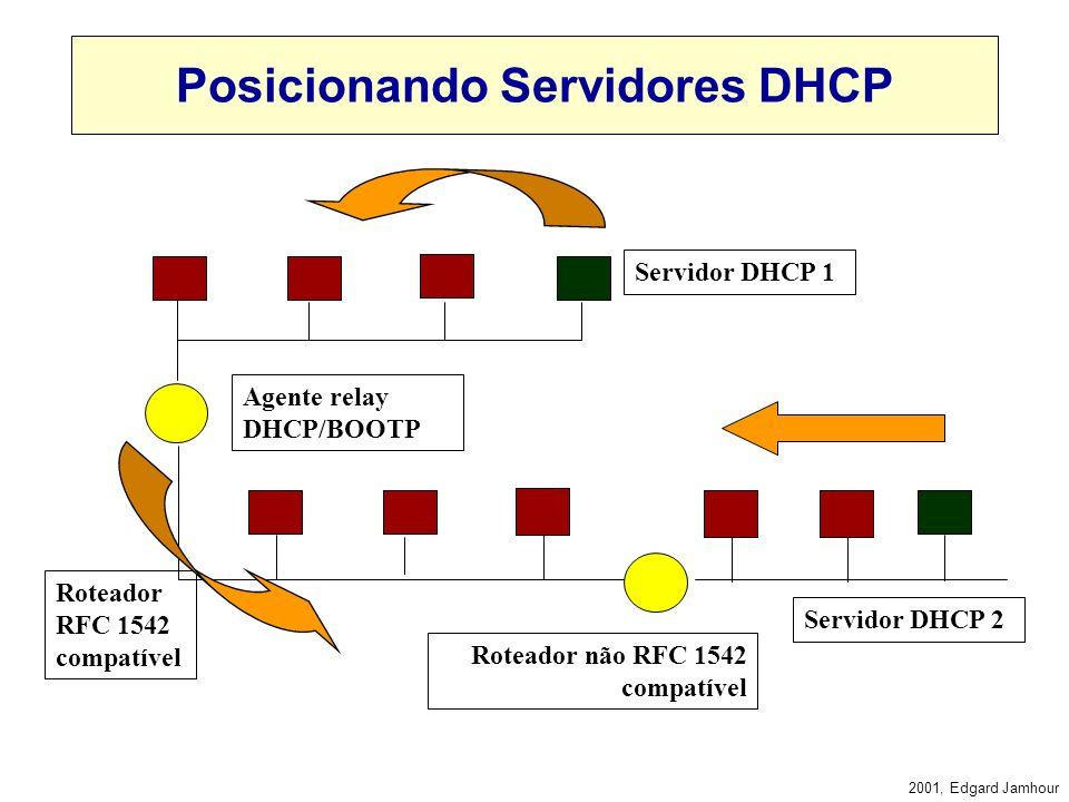 Posicionando Servidores DHCP