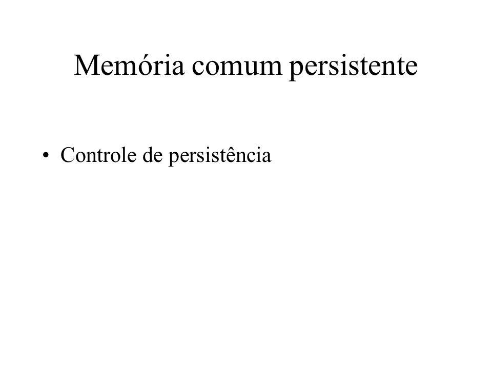 Memória comum persistente