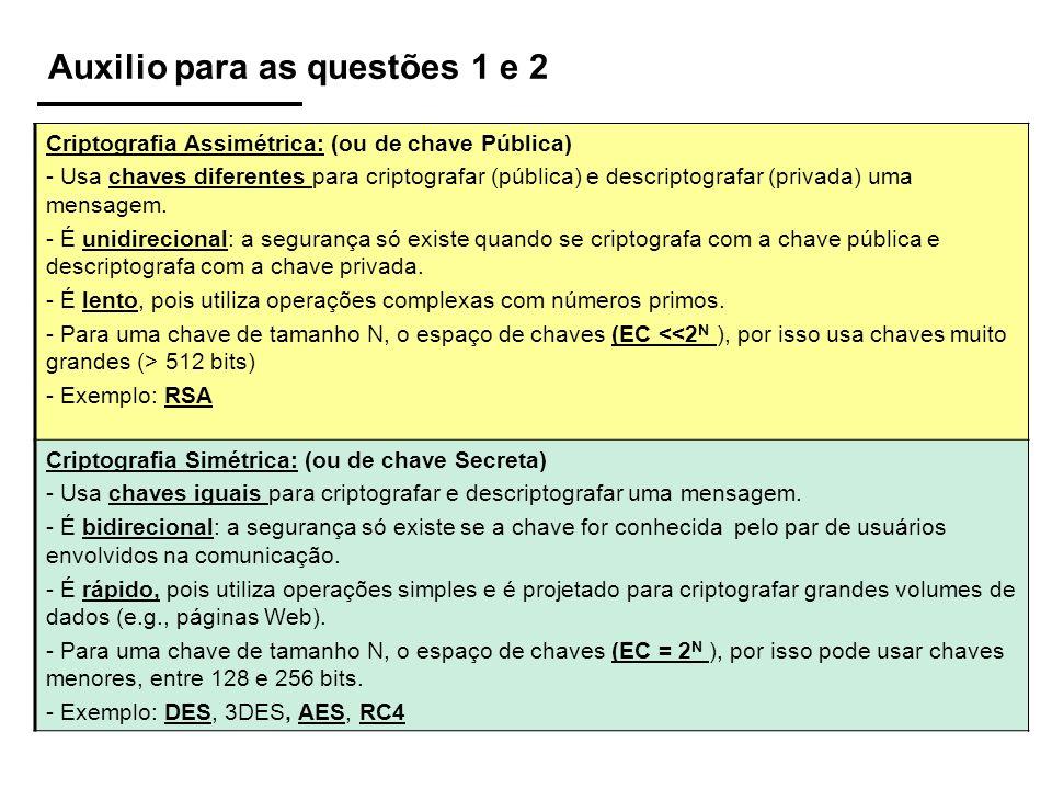 Auxilio para as questões 1 e 2