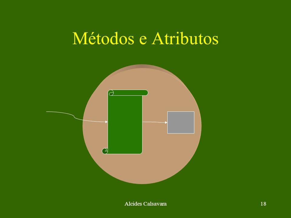 Métodos e Atributos Alcides Calsavara