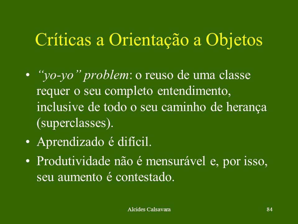 Críticas a Orientação a Objetos
