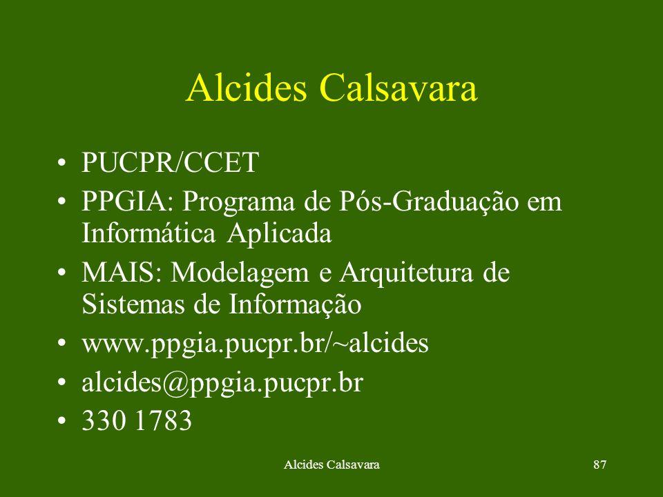 Alcides Calsavara PUCPR/CCET