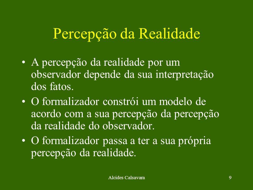 Percepção da Realidade