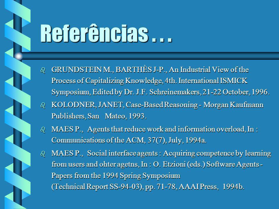 Referências . . .