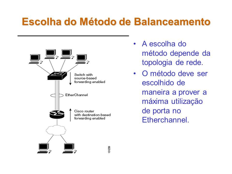 Escolha do Método de Balanceamento