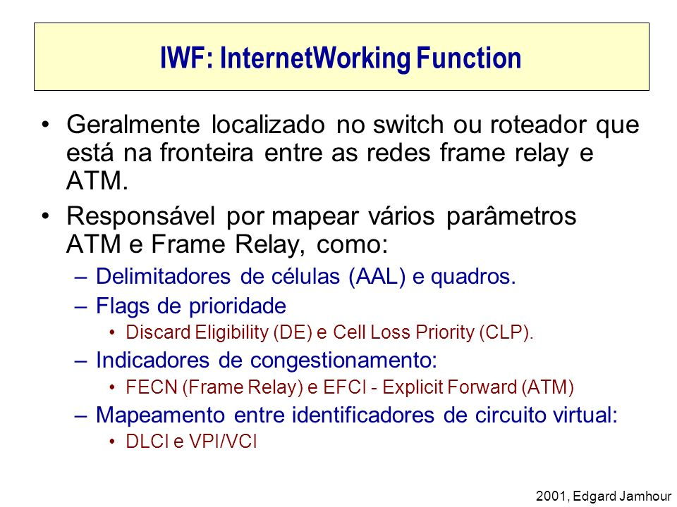 IWF: InternetWorking Function