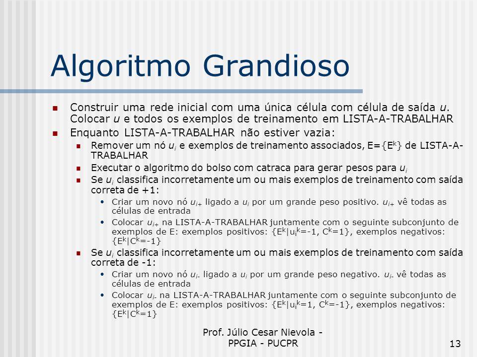 Prof. Júlio Cesar Nievola - PPGIA - PUCPR
