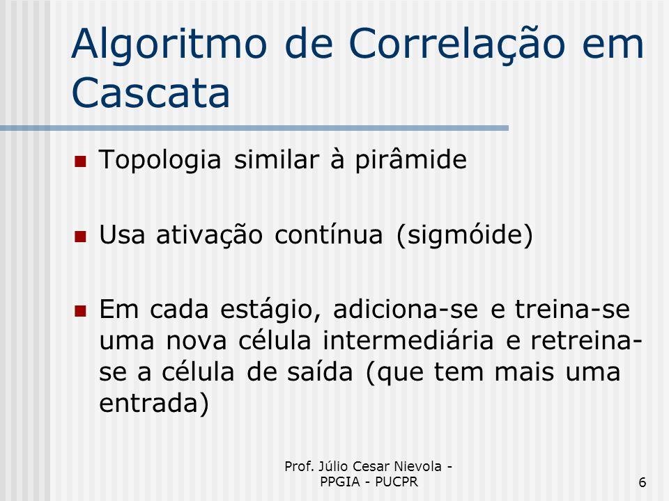 Algoritmo de Correlação em Cascata