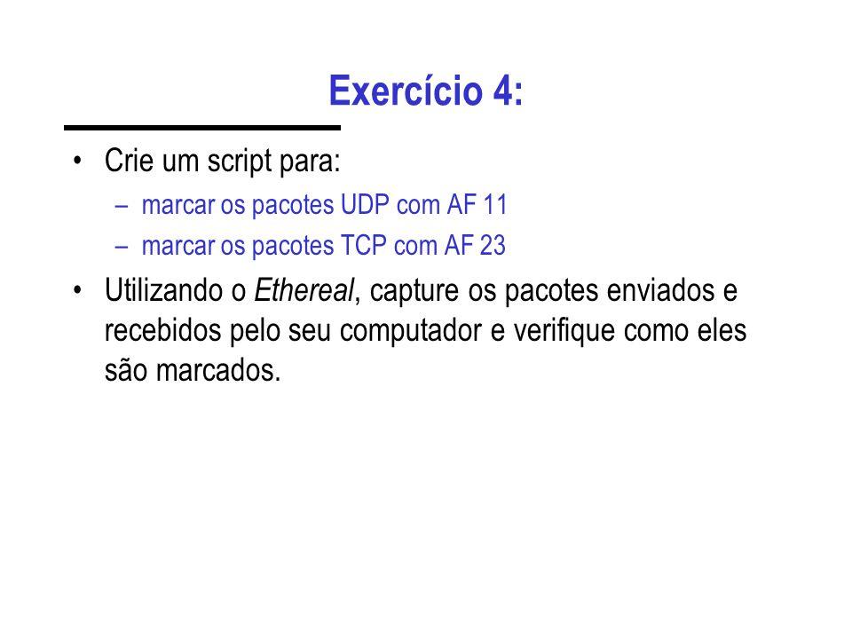Exercício 4: Crie um script para: