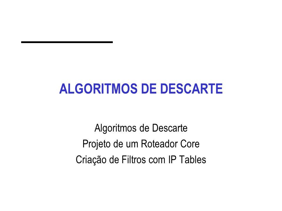 ALGORITMOS DE DESCARTE