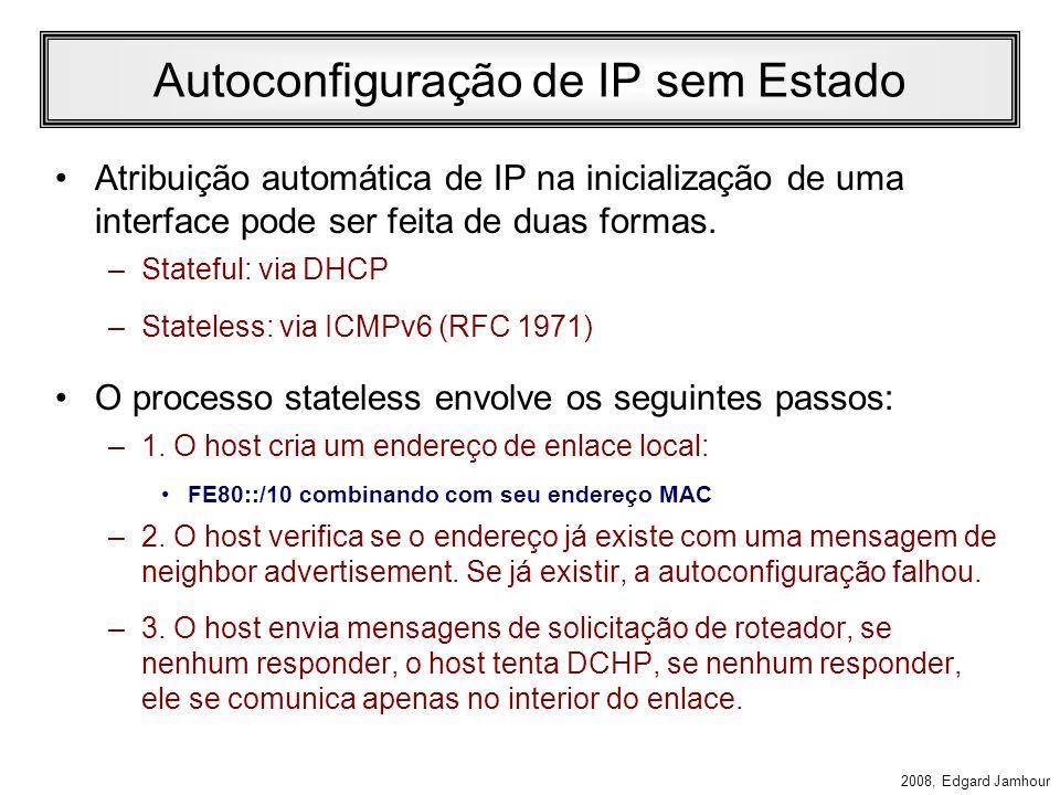 Autoconfiguração de IP sem Estado