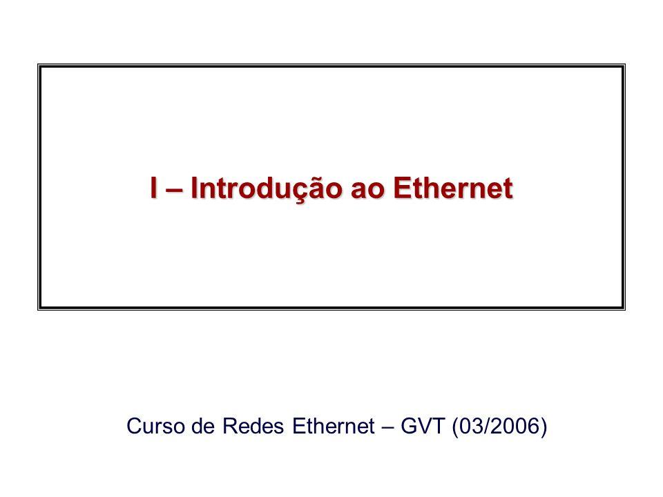 I – Introdução ao Ethernet