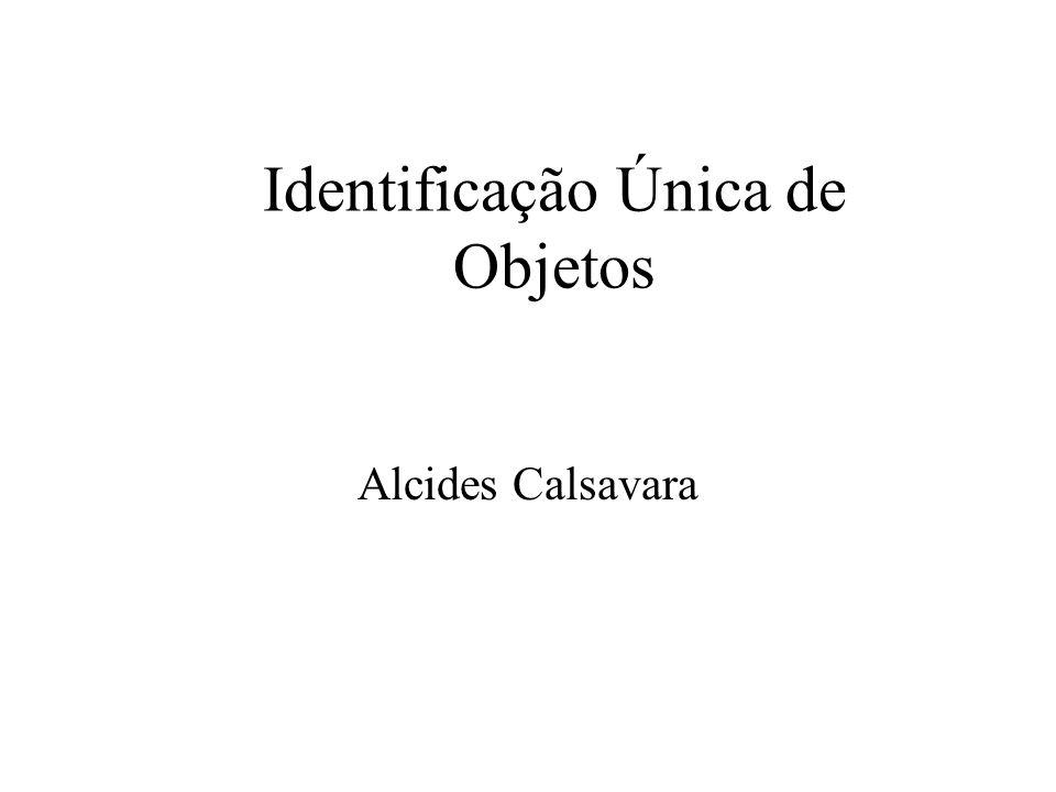 Identificação Única de Objetos