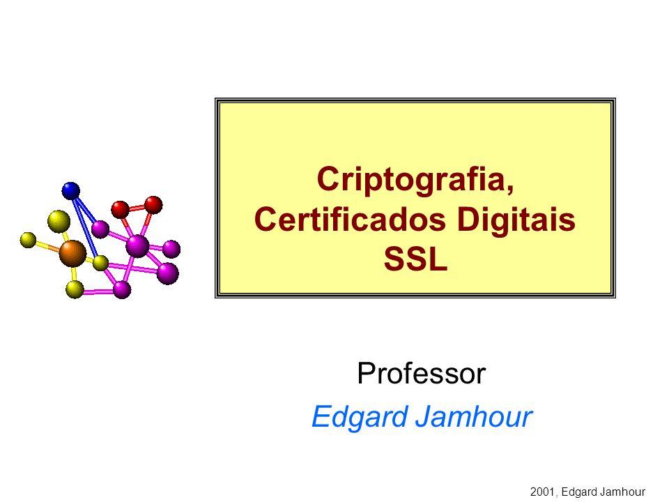 Criptografia, Certificados Digitais SSL