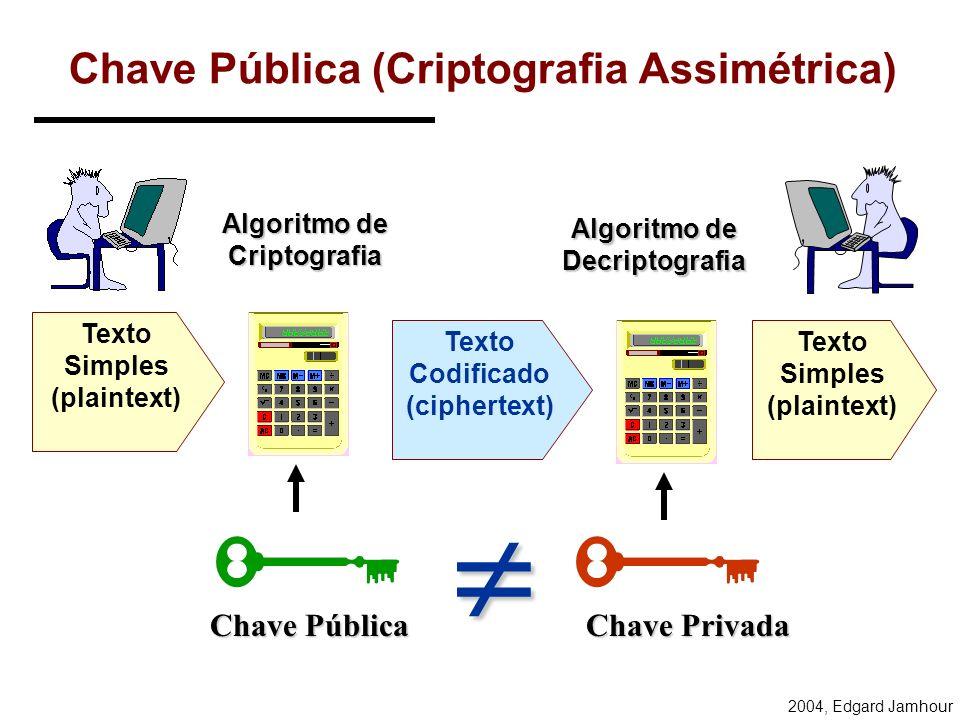Chave Pública (Criptografia Assimétrica)
