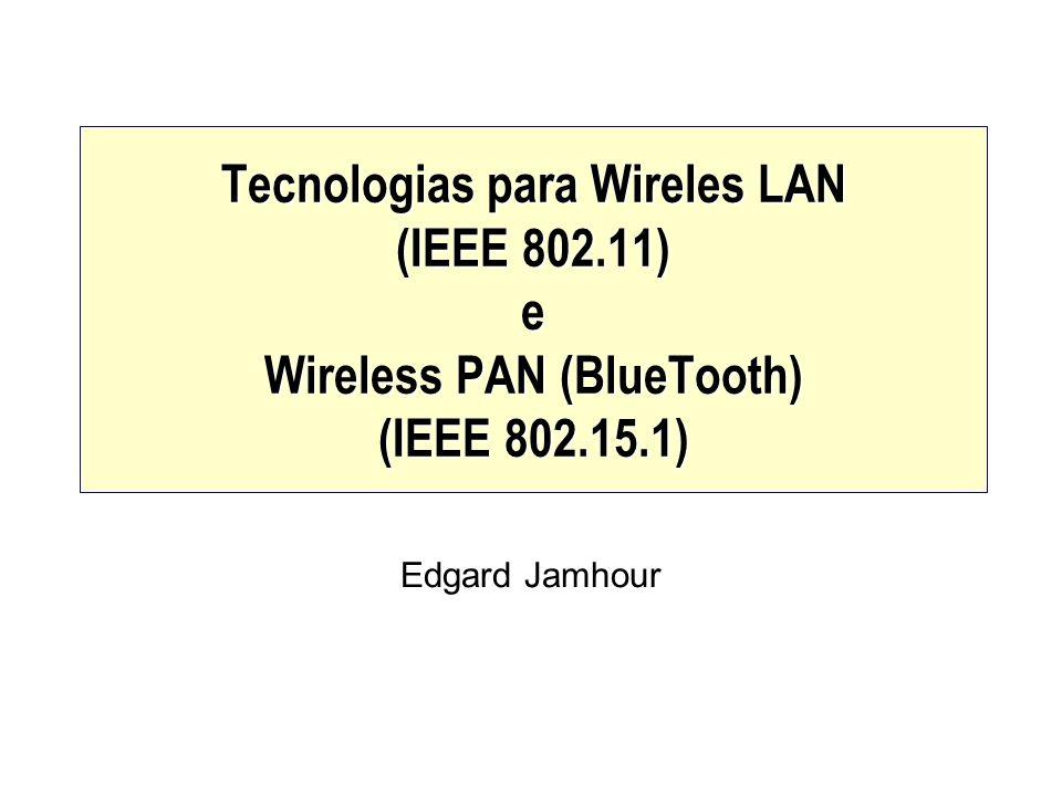 Tecnologias para Wireles LAN (IEEE 802