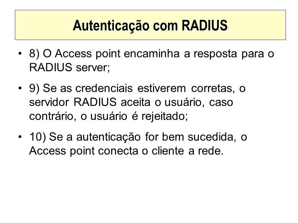 Autenticação com RADIUS