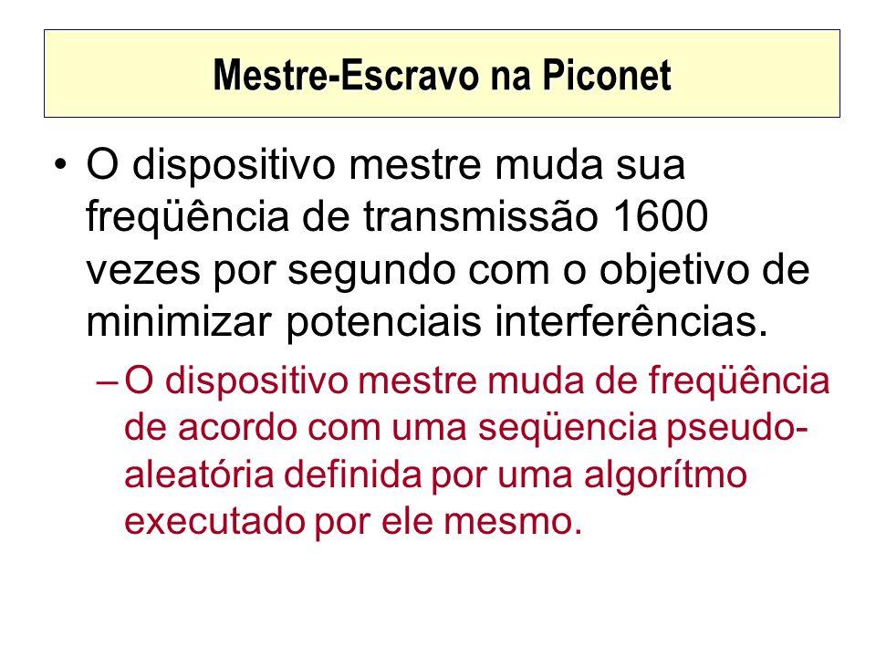 Mestre-Escravo na Piconet