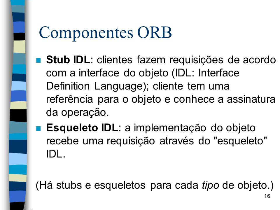Componentes ORB