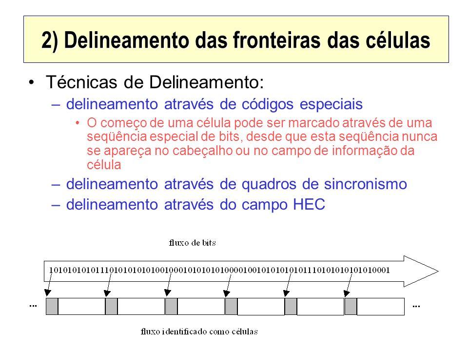 2) Delineamento das fronteiras das células