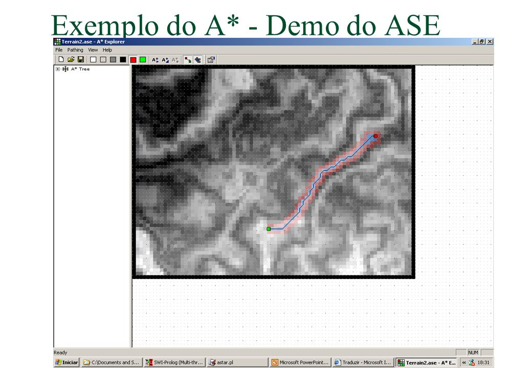 Exemplo do A* - Demo do ASE