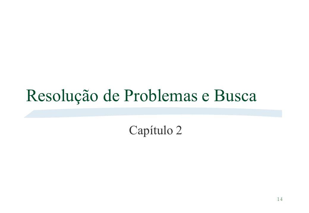 Resolução de Problemas e Busca
