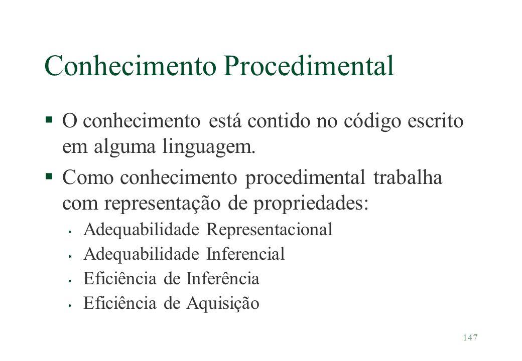Conhecimento Procedimental