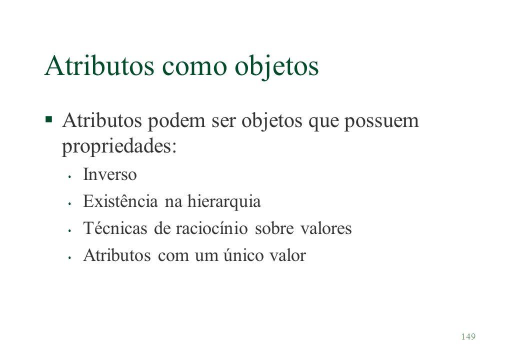 Atributos como objetos