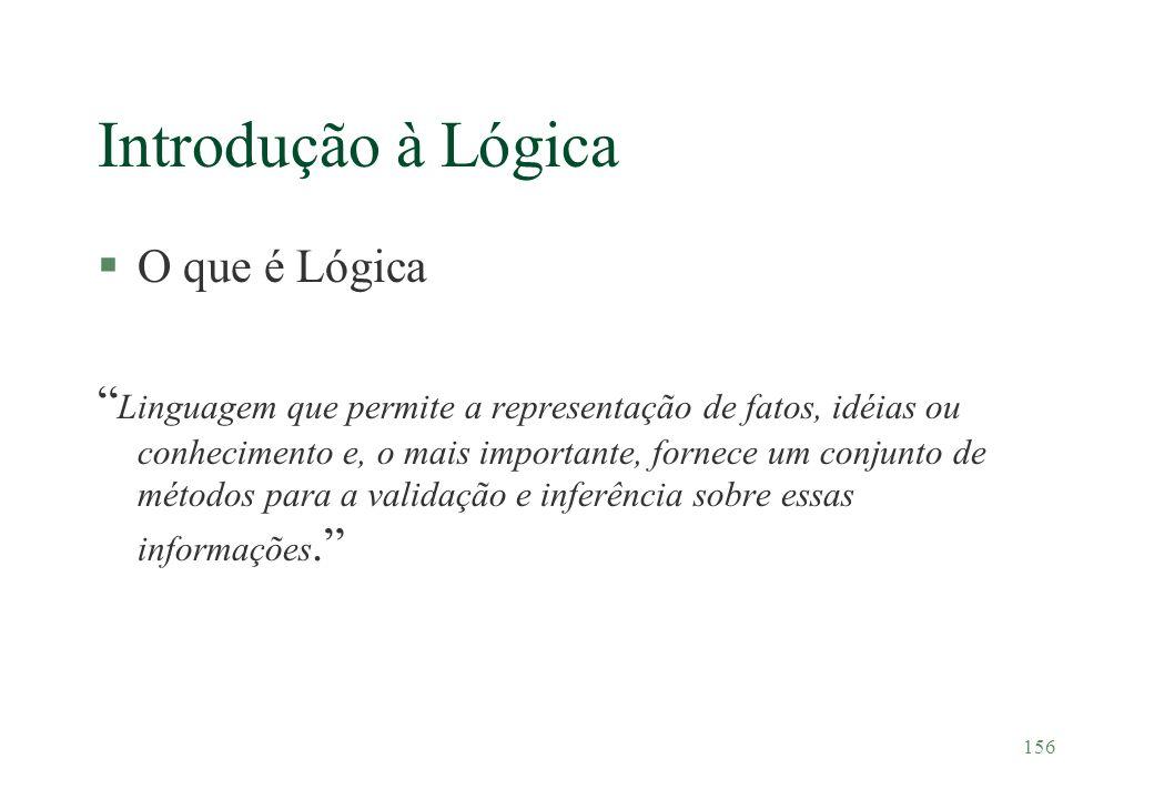 Introdução à Lógica O que é Lógica