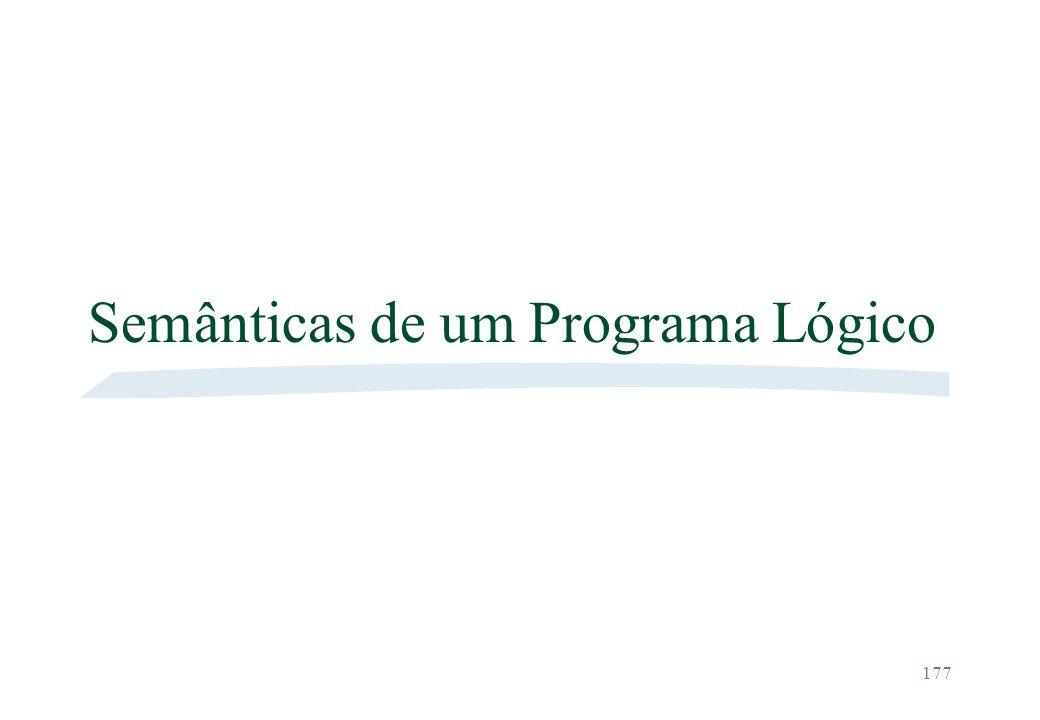 Semânticas de um Programa Lógico