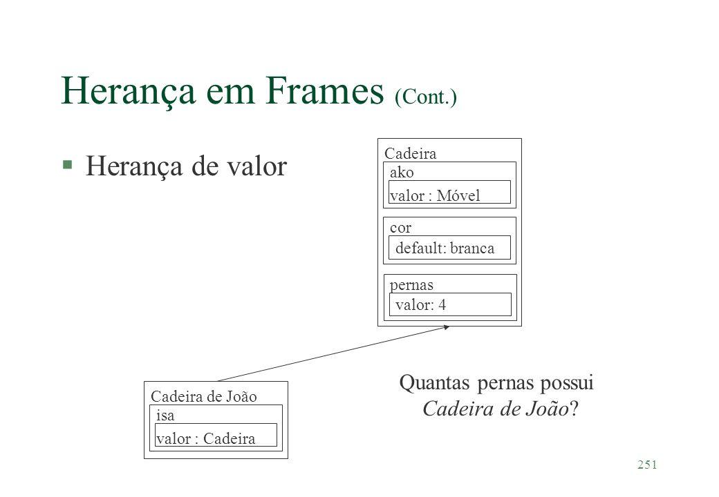 Herança em Frames (Cont.)