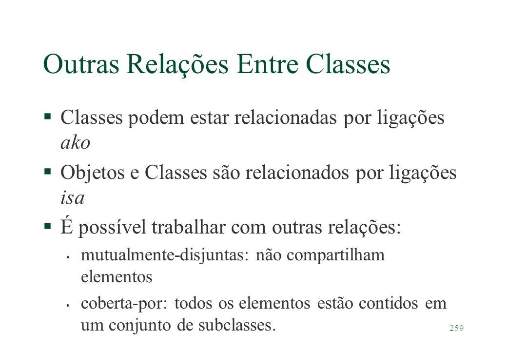 Outras Relações Entre Classes