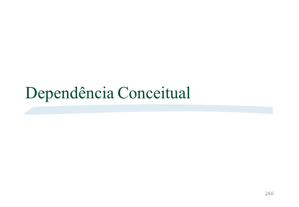 Dependência Conceitual