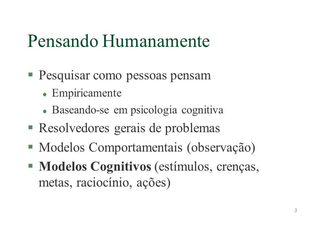 Pensando Humanamente Pesquisar como pessoas pensam