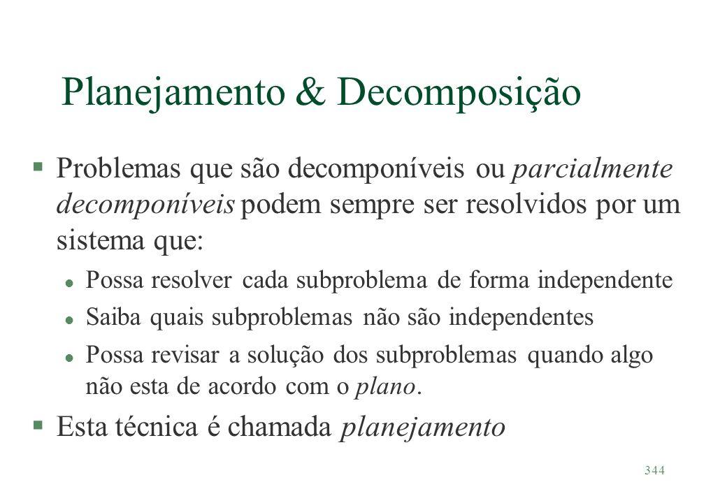 Planejamento & Decomposição